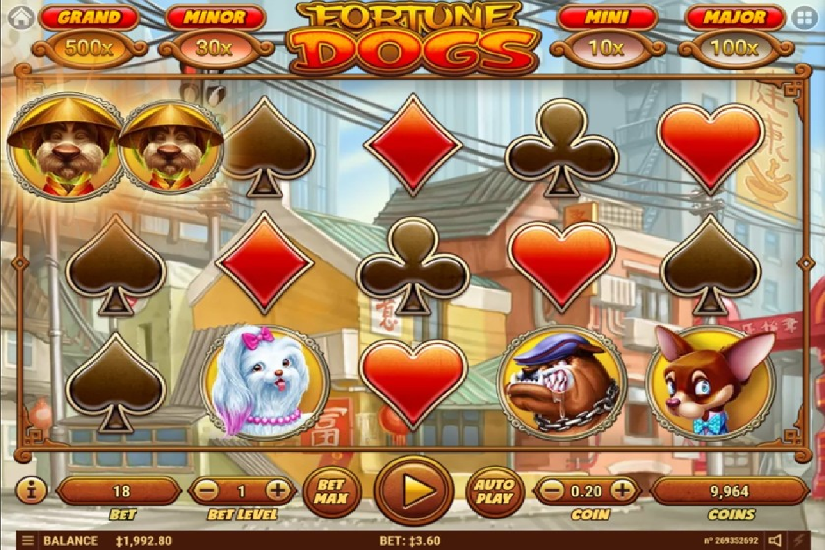 Fortune Dogs1 - Info Game Slot Pgsoft Tahun 2020
